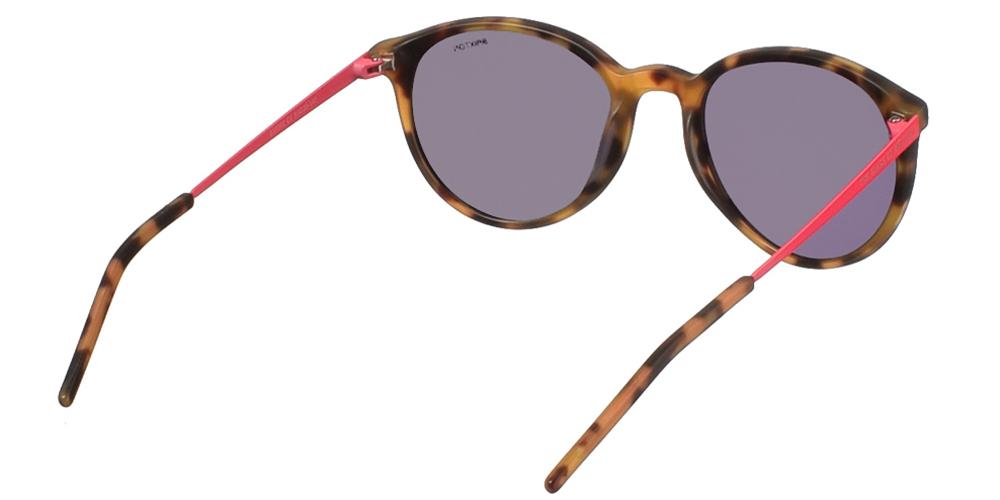 Γυναικεία κοκάλινα γυαλιά ηλίου BS0060 Tortoise με καφέ ταρταρούγα και σκούρο γκρι φακό της εταιρίας Glass of Brixtonγια μικρά και μεσαία πρόσωπα.