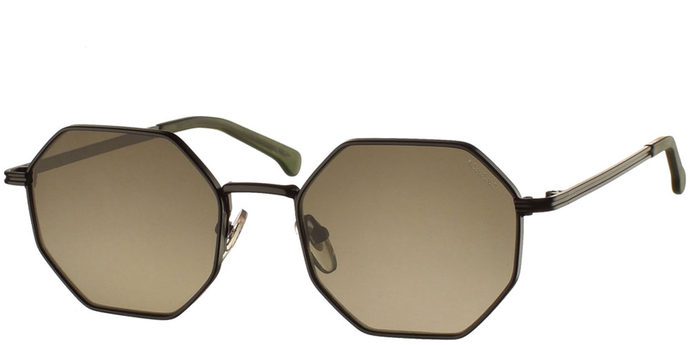 Γυαλιά ηλίου komono monroe black green sunglasses