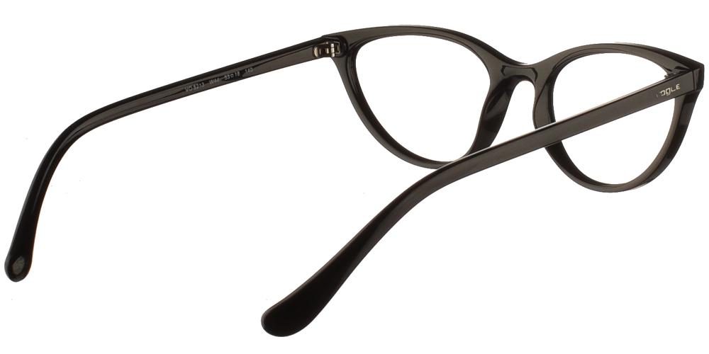 Γυναικεία κοκάλινα γυαλιά οράσεως πεταλούδα Vogue VO 5213 W44 σε μαύρο σκελετό για μικρά και μεσαία πρόσωπα.