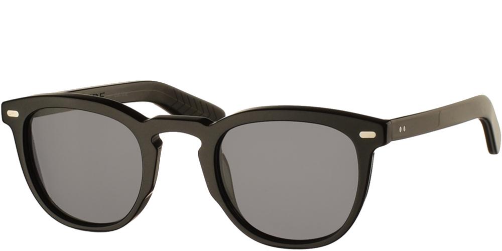 Ανδρικά και γυναικεία κοκάλινα γυαλιά ηλίου Spitfire Cut Nine Black σε μαύρο χρώμα και γκρι φακούς για μικρά και μεσαία πρόσωπα.