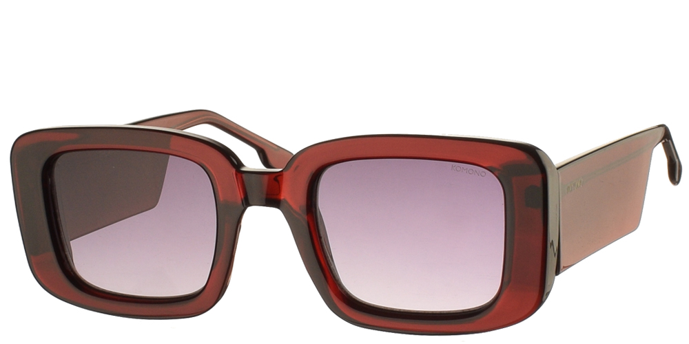 blink optics Γυαλιά ηλίου komono avery burgundy sunglasses