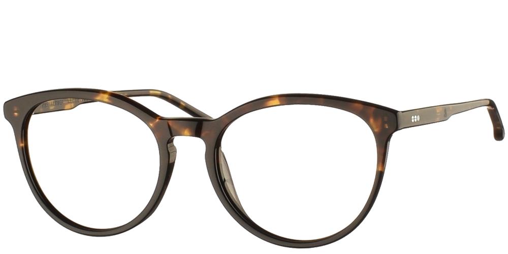 Γυναικεία κοκάλινα γυαλιά οράσεως Komono Althea Turtle σε καφέ ταρταρούγα της εταιρίας Komonoγια όλα τα πρόσωπα.